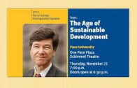 Jeffrey Sachs: The Age of Sustainable Development